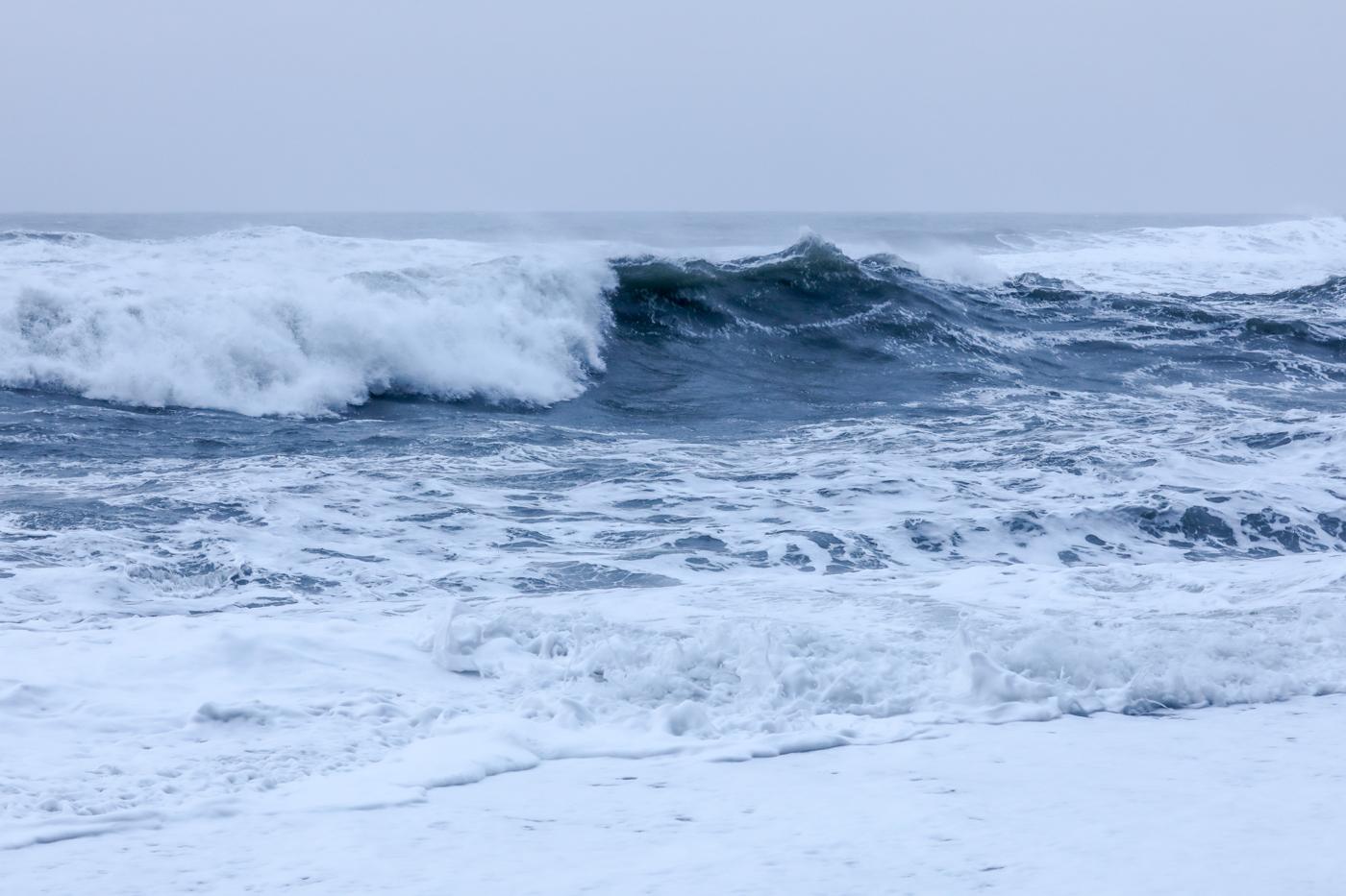 Wellen in Island
